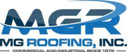 MG Roofing logo