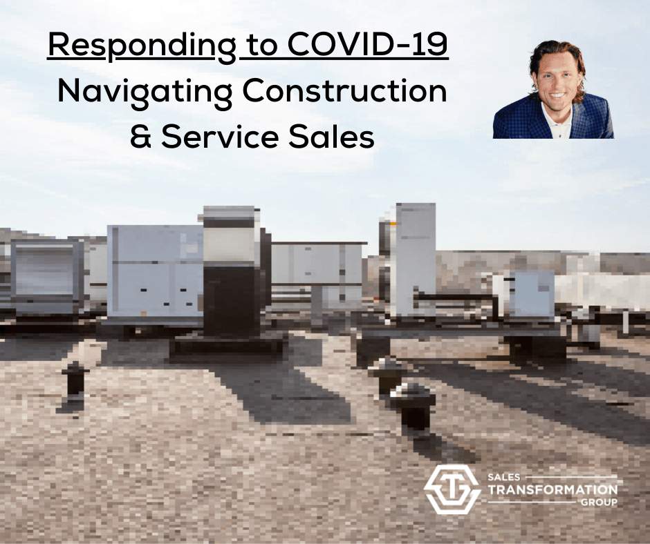 COVID-19 info - top of commercial roof